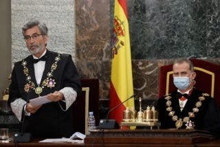 """Soberano zasca de Felipe VI a Sánchez y al resto de partidos: """"Lesmes os ha leído la cartilla"""""""