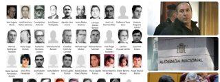 La foto de los 39 asesinados por Parot que pisotean Sánchez y la Audiencia Nacional al permitir el homenaje al etarra