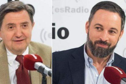 """Losantos: """"Abascal debe combatir en VOX a la horda antivacunas que acosa a esRadio"""""""