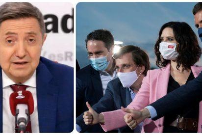 """Losantos: """"Almeida se ha convertido en el tonto útil de los pájaros rencorosos de Casado y García Egea contra Ayuso"""""""