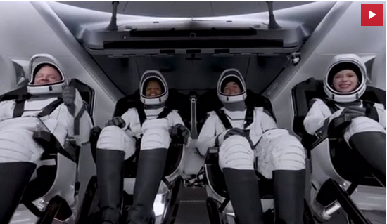Lanzan la primera misión orbital de astronautas aficionados con Space X