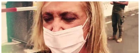 Lydia Lozano, pillada en La Palma buscando 'carroña' en medio de la tragedia