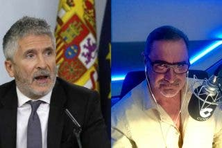 """Carlos Herrera 'invita' a Grande-Marlaska a dimitir tras tragarse la falsa agresión al gay: """"¡Márchate a casa!"""""""