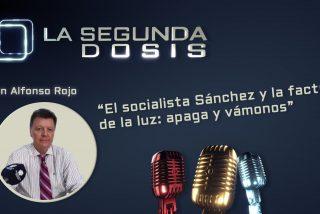 """""""El socialista Sánchez y la factura de la luz: apaga y vámonos"""""""