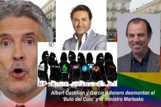 Albert Castillón y García Adanero desmontan el 'Bulo del Culo' y al ministro Marlaska