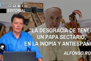 """Alfonso Rojo: """"La desgracia de tener un Papa sectario, en la inopia y antiespañol"""""""