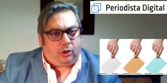 """Fran Simón: """"Sánchez se verá obligado en 2022 a convocar elecciones generales en España"""""""