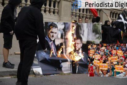 Cataluña: el golpismo independentista ya sólo enamora al socialista Sánchez