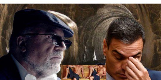 El comisario Villarejo mete al socialista Sánchez en las saunas sexuales de su suegro