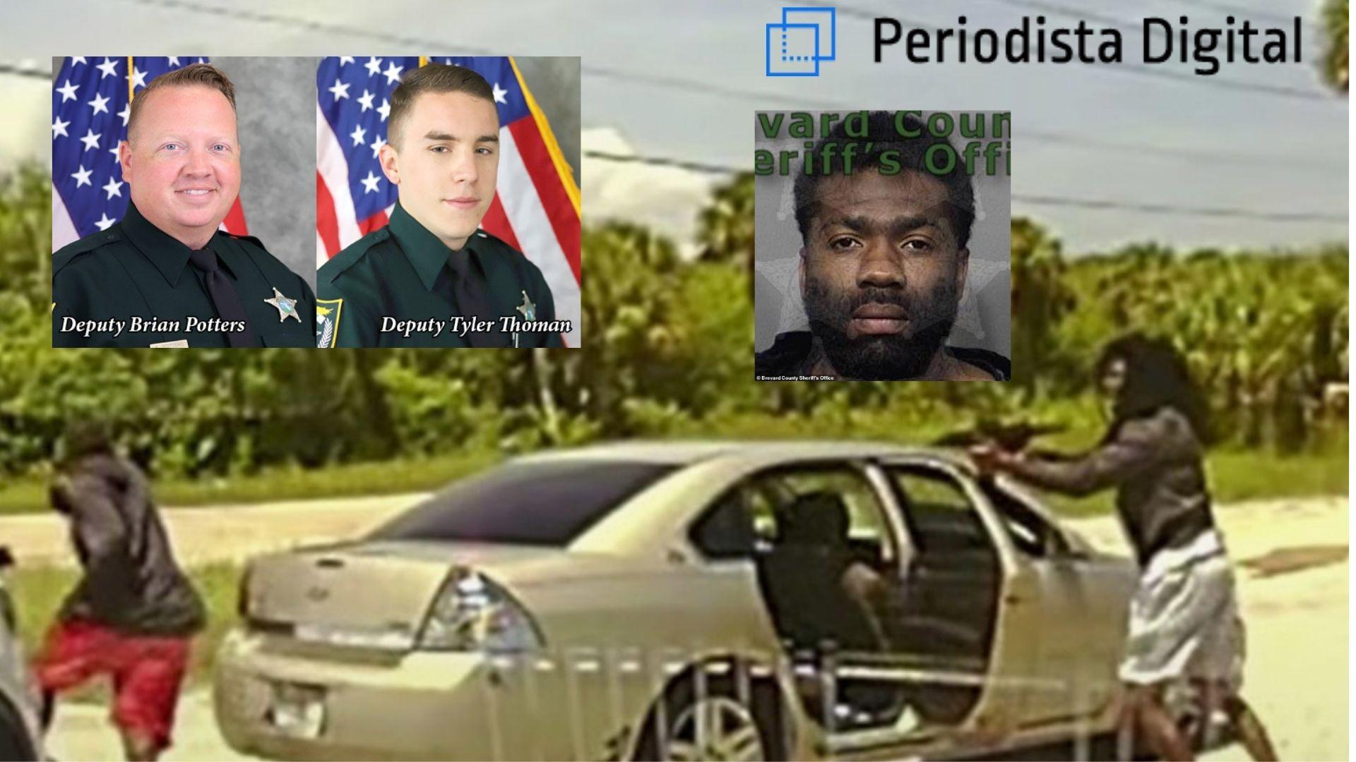 """El agente cose a tiros al maleante y el sheriff aplaude: """"el mal nunca puede morir lo suficiente"""""""