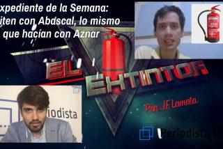 """Expediente de la Semana: """"Repiten con Abascal, lo mismo que hacían con Aznar"""""""
