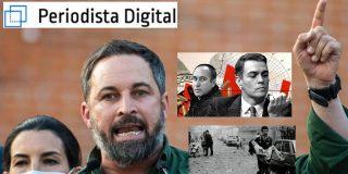 """Santiago Abascal (VOX): """"Se exaltan los crímenes de los terroristas de ETA con la complicidad de Pedro Sánchez"""""""