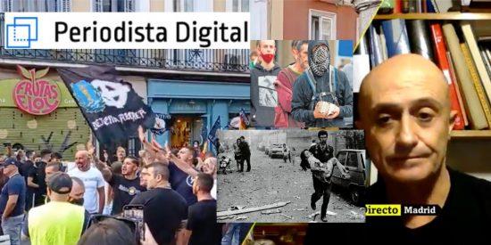 Los mismos que ni critican los 51 actos de odio proetarras en el País Vasco, se ponen histéricos con los neonazis de Chueca