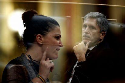 """La amenaza de Macarena Olona a Marlaska: """"Mañana nos vemos en el Congreso, indigno"""""""