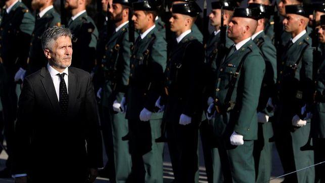 Policía y Guardia Civil 'liquidan' a Marlaska: 'septiembre negro' para cesar al ministro