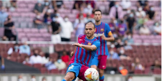 "Braithwaite será baja del FC Barcelona por ""varios meses"""
