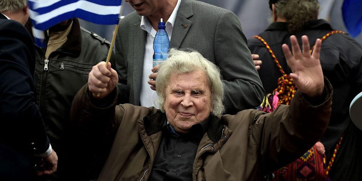 """Muere Mikis Theodorakis, el compositor de """"Zorba el griego"""""""