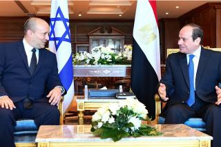 Histórica visita de Bennett a Egipto: No habían recibido a ningún primer ministro de Israel en la última década