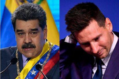 El dictador Maduro ordena capturar a un periodista por un desafortunado comentario sobre la esposa de Lionel Messi