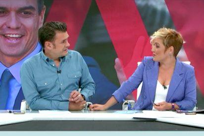 Repugnante publirreportaje en 'Más Vale Tarde' que indigna hasta a Cristina Pardo: Sánchez arrasa... por guapo