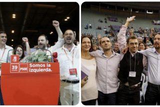 La elocuente foto que iguala al PSOE de Sánchez con las purgas podemitas de Pablo Iglesias