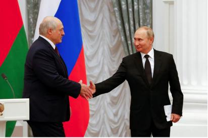 Putin y Lukashenko realizan ejercicios militares conjuntos para reforzar la integración de su países