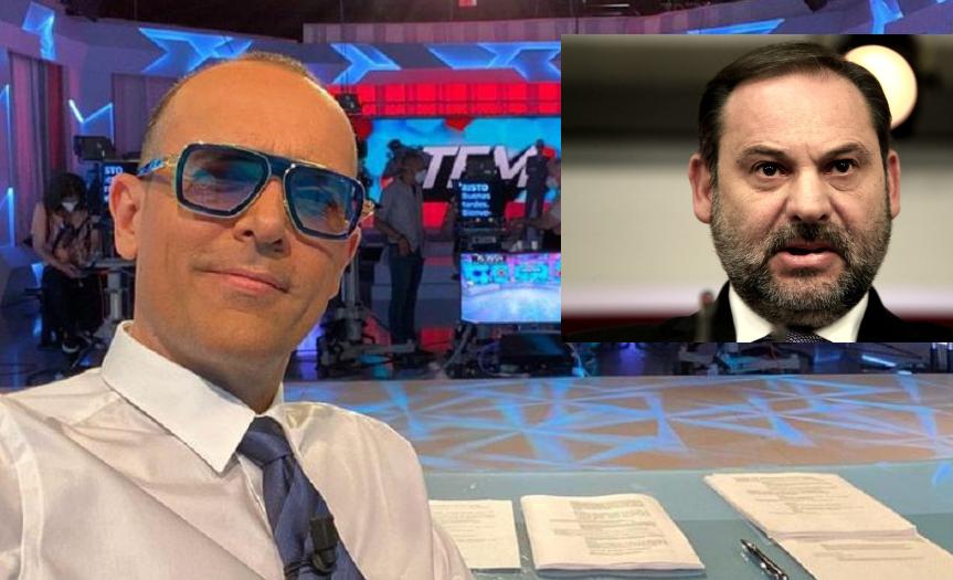 José Luis Ábalos ficha por 'Todo es mentira', el programa de Risto a quien acusó de intimidar a su familia