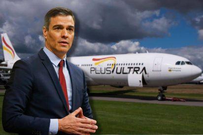 Si la chavista Plus Ultra no devuelve el dinero del rescate, que Pedro Sánchez afloje el parné de su bolsillo