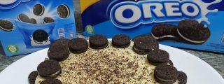 Receta: tarta sin horno de Oreo y chocolate blanco