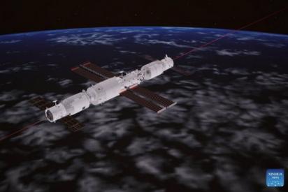 China logra acoplar con éxito un un nuevo carguero en su estación espacial