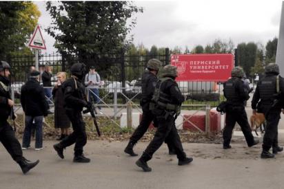 Tiroteo en la Universidad de Perm en Rusia: Al menos seis muertos y 28 heridos