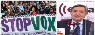 """Losantos alerta a Abascal de la 'Mala saña' de la izquierda: """"Quieren hacer a VOX lo mismo que al PP en el 11-M"""""""