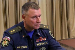 Fallece en un ejercicio militar Yevgeny Zinichev, el ministro de Emergencias y antiguo guarda espaldas de Putin