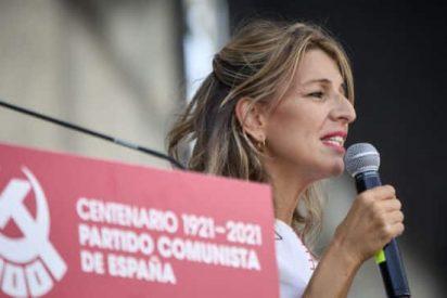 """Yolanda Díaz, troleada por este vídeo viral: """"Tenemos una tarea urgenta"""""""