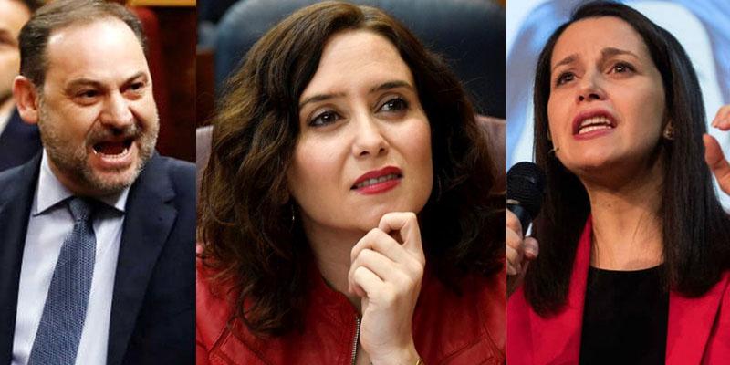 Ábalos ventila los trapos sucios de Ciudadanos: Pactaron una moción de censura con el PSOE para echar a Ayuso
