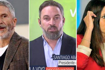 """Abascal replica a las 'sucias' acusaciones del Gobierno: """"Marlaska es un mentiroso compulsivo y en Podemos tienen problemas psicológicos"""""""