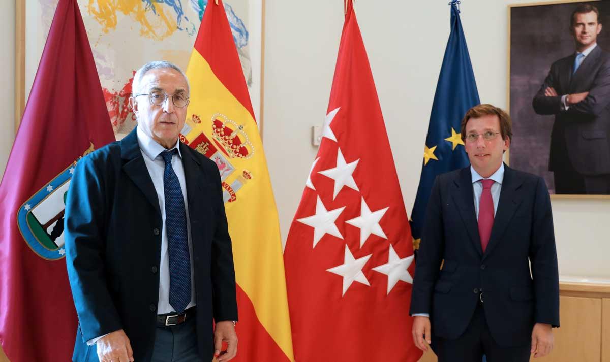 Almeida y Blanco continúan trabajando en el proceso para convertir a Madrid en sede olímpica