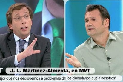 """Iñaki López se calienta contra VOX y Almeida le para los pies: """"¡No lo voy a aceptar!"""""""