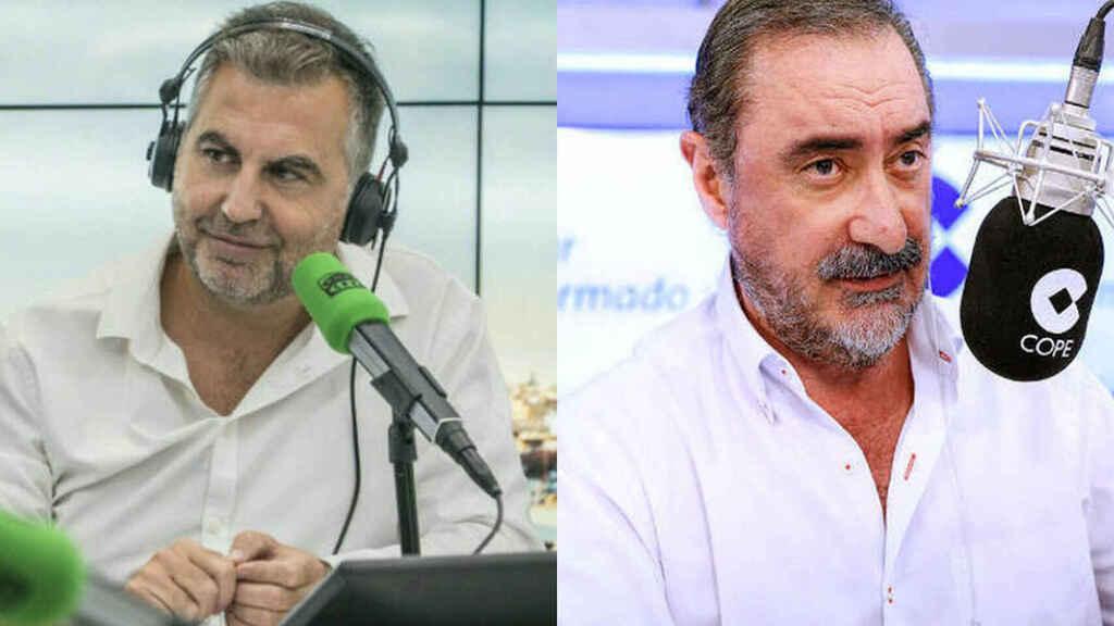 Alsina rompe el 'pacto': sacude un palo radiofónico a Carlos Herrera en antena y con público