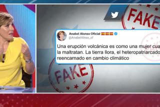 """Anabel Alonso lamenta que sus plagiadores mejoren sus habituales bobadas en Twitter: """"No consigo denunciarlo"""""""