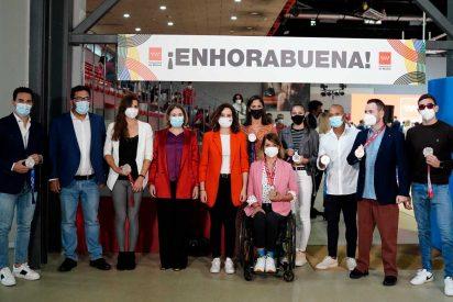 Díaz Ayuso ensalza a los deportistas de la Comunidad que han competido en los Juegos de Tokio 2020