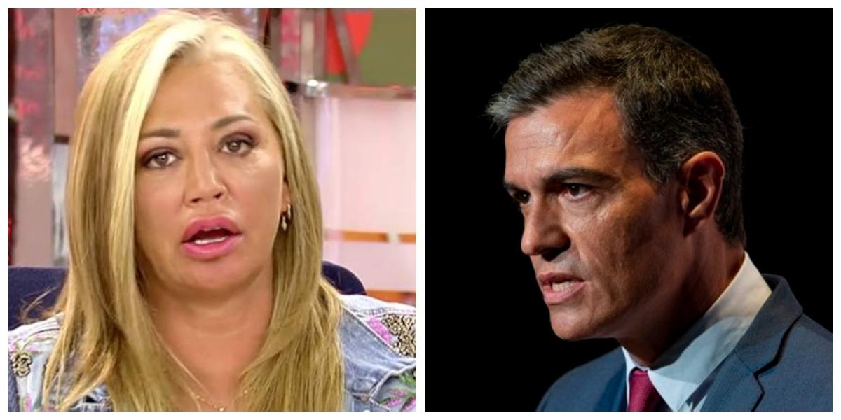 """Belén Esteban, rabiosa, le da un repaso sin precedentes al Gobierno de Sánchez: """"¡Me pongo enferma!"""""""