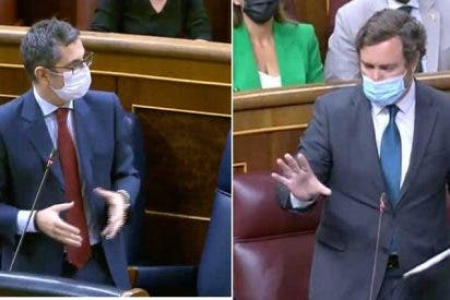 """Espinosa de los Monteros (VOX) retrata al socialcomunismo: """"¿Diálogo? De los 11 ministros convocados, solo hay seis hoy"""""""