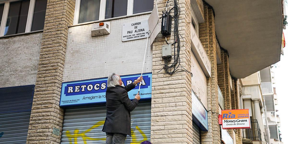 Los indepes, apoyados por los socialistas, quitan a los Reyes Católicos del callejero de Barcelona
