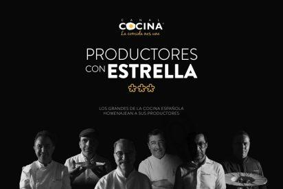 Canal Cocina estrena 'Productores con estrella', una de las series más relevantes del año