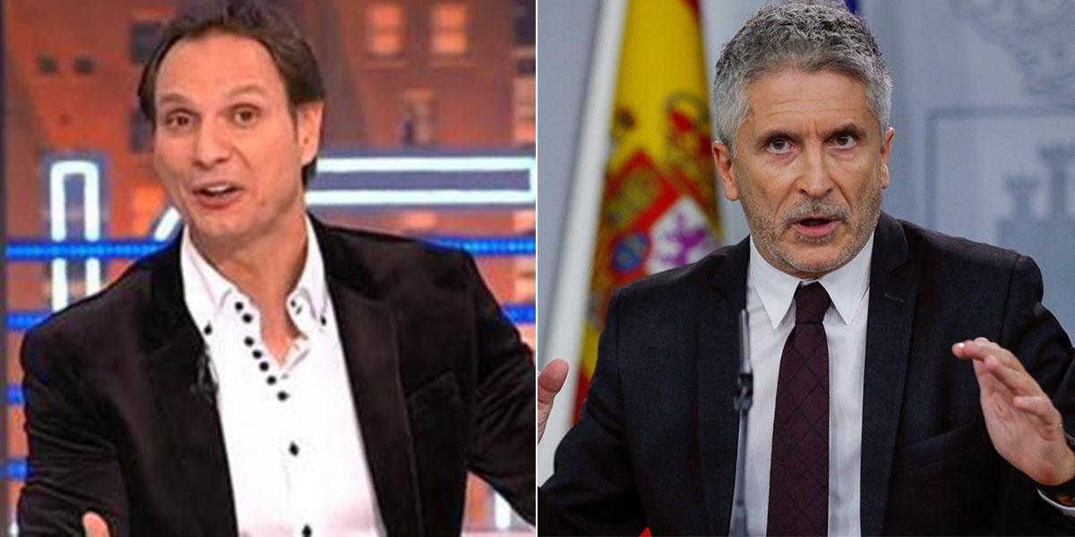 """Cárdenas se lanza a por Marlaska: """"No sé cuándo este hombrecillo se dio con alguna puerta en la cabeza"""""""