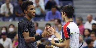 Un pinchazo en el aductor pone fin al sueño de Carlos Alcaraz en el US Open