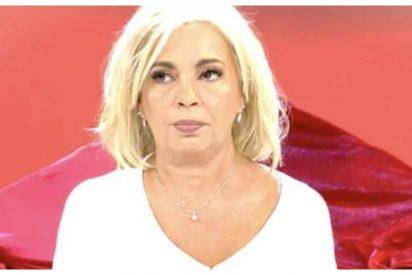El fichaje de Carmen Borrego por 'Sálvame' demuestra lo mal que están las Campos y Telecinco