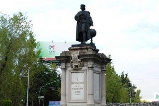 Ciudad de México retira una estatua de Colón para sustituirla por otra en honor a la mujer indígena