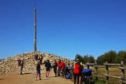 La Cruz de Ferro y Manjarín, dos puntos emblemáticos en el Camino de Santiago